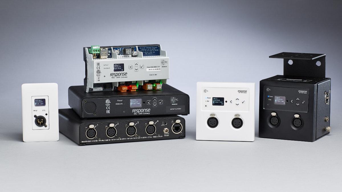 ETC präsentiert Response Mk2 DMX Gateways