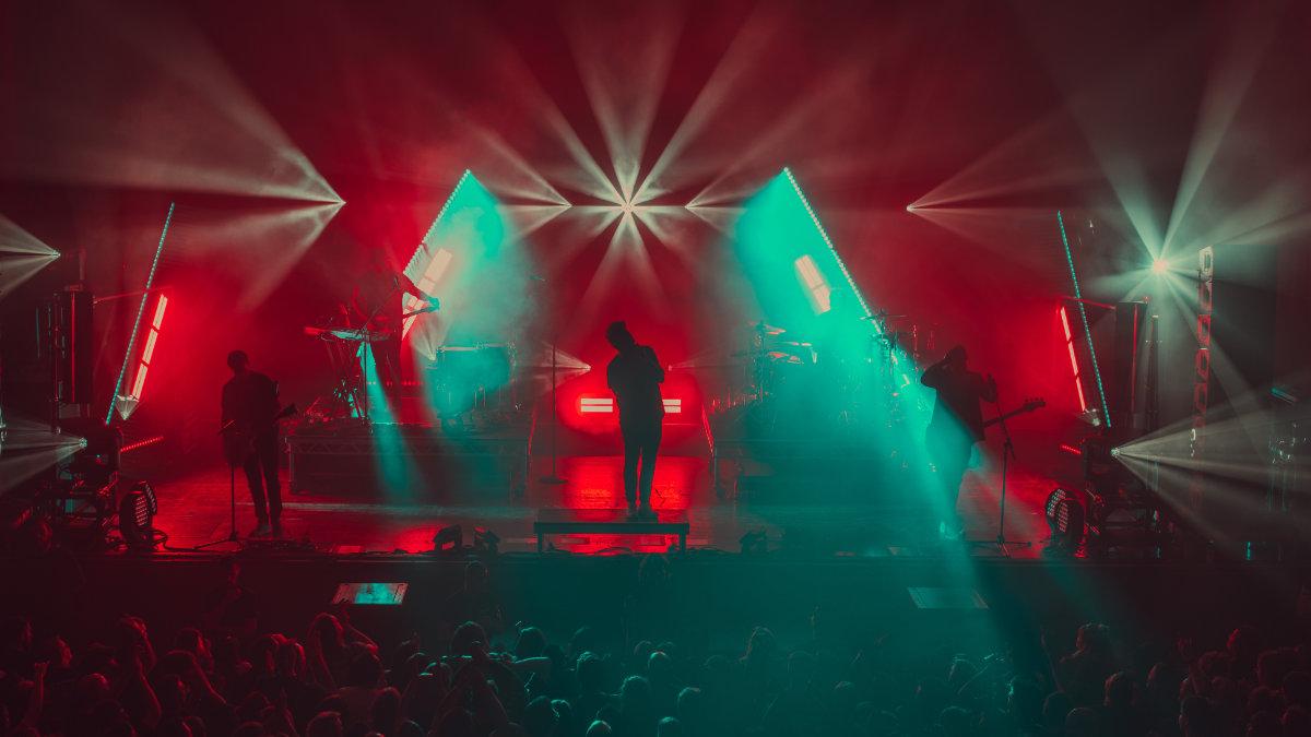 Lichtdesigner Mathias Kuhn und Papa Roach touren mit GLP