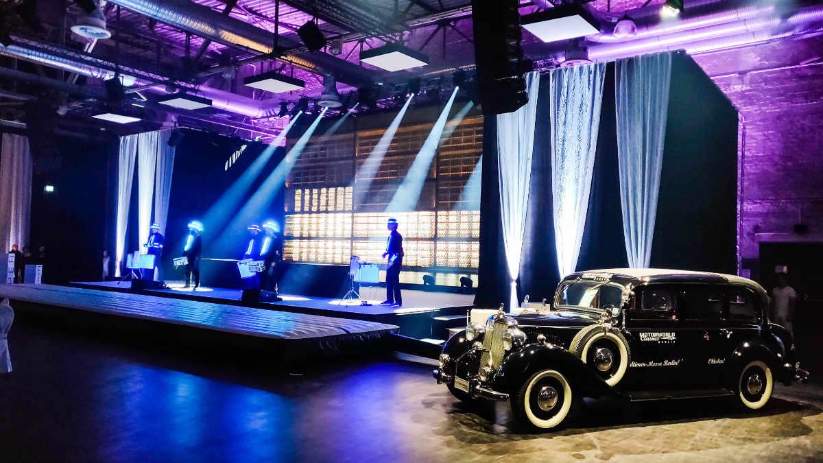 Kuchem Konferenz Technik stattet den Galaabend der EUROBAUSTOFF aus