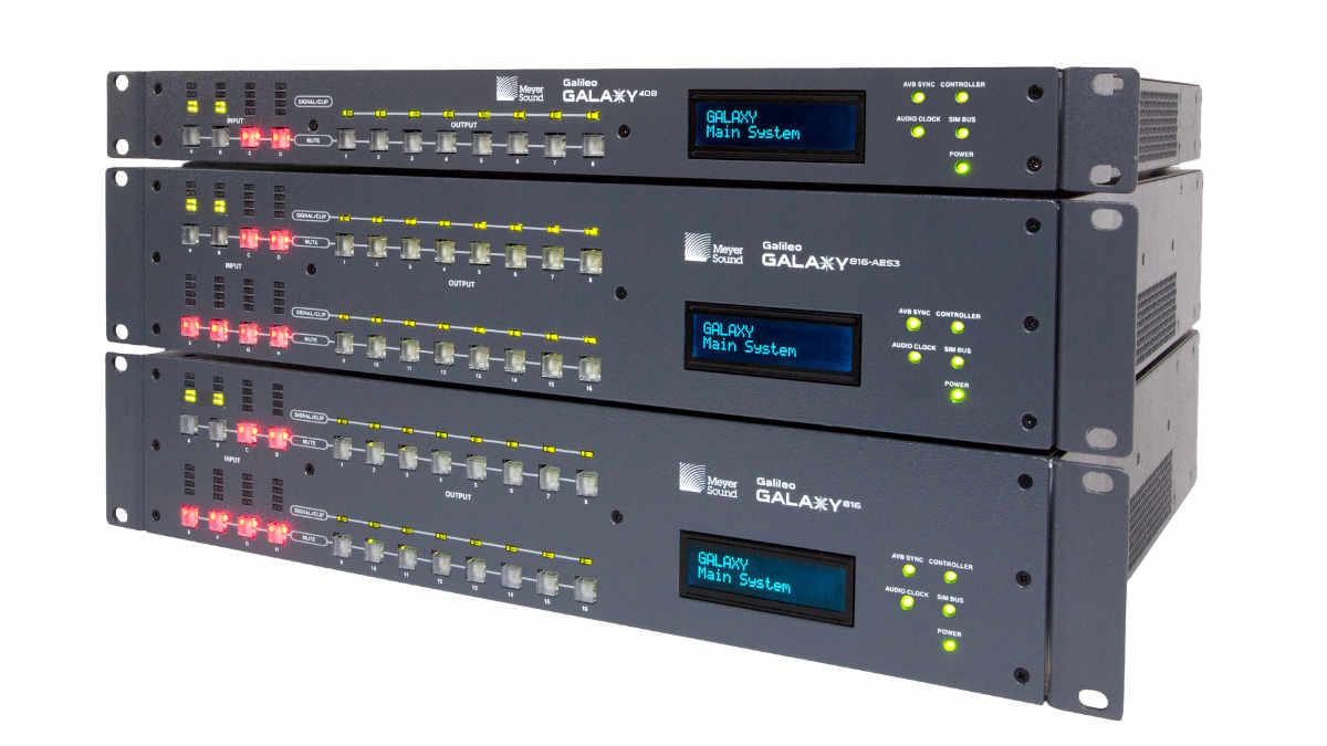 Meyer Sound Galileo GALAXY ist Milan zertifiziert
