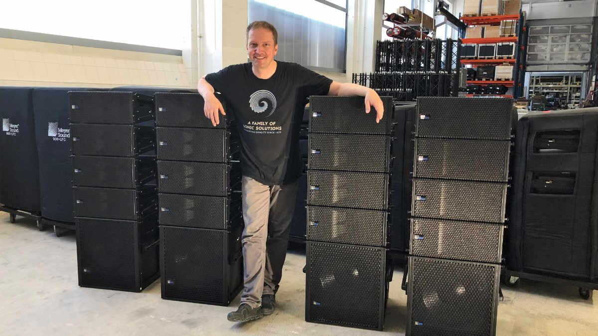 KIEKER investiert in Meyer Sound LINA und 750-LFC