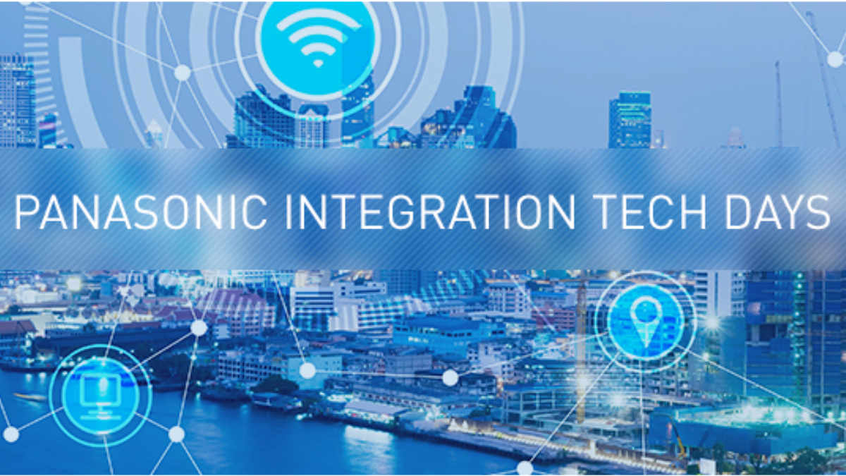 Panasonic Integration Tech Days