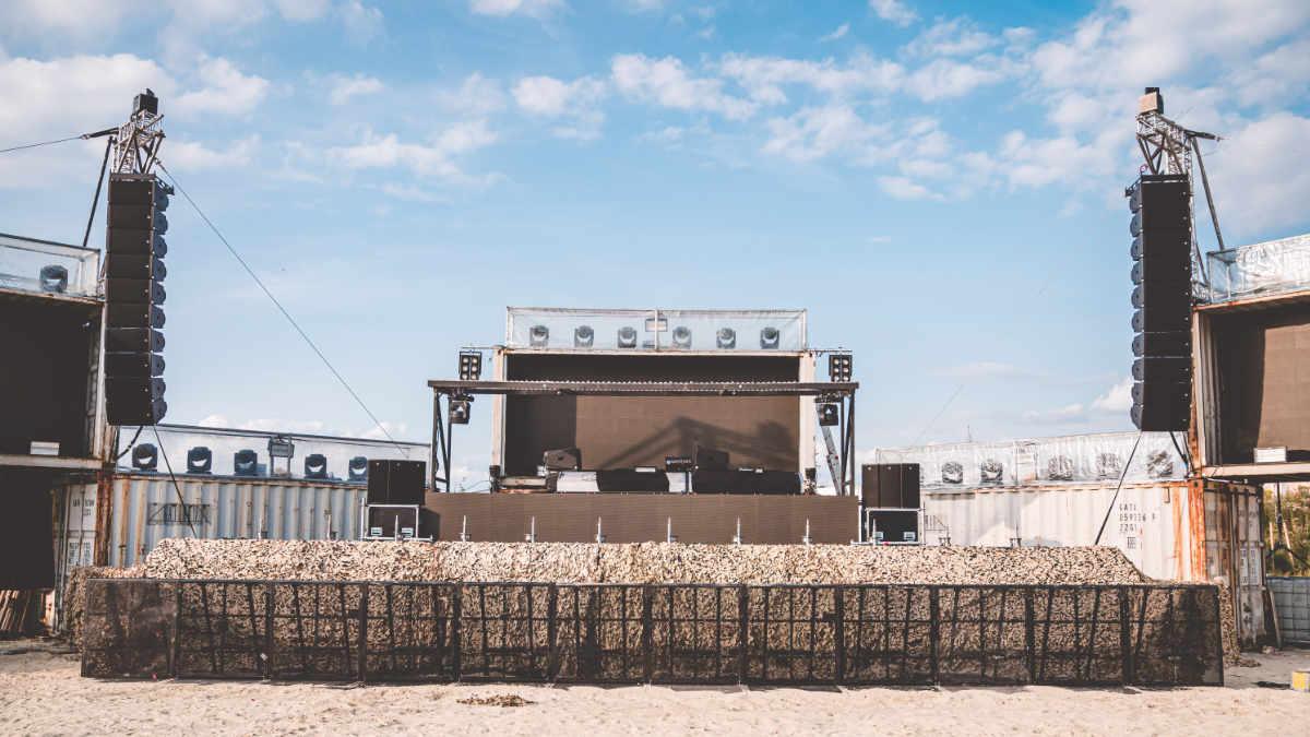 CODA AUDIO beschallt die Desert Valley Stage beim PAROOKAVILLE