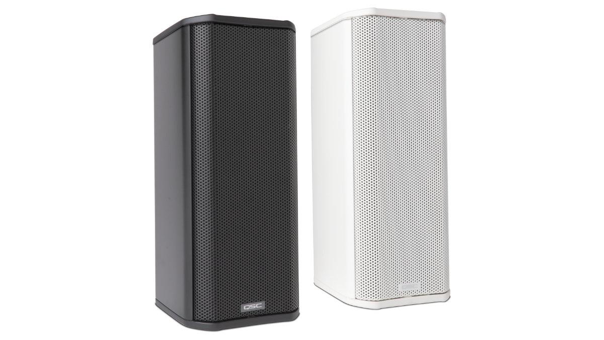 QSC erweitert die AcousticDesign Serie mit dem neuen AD-S402T