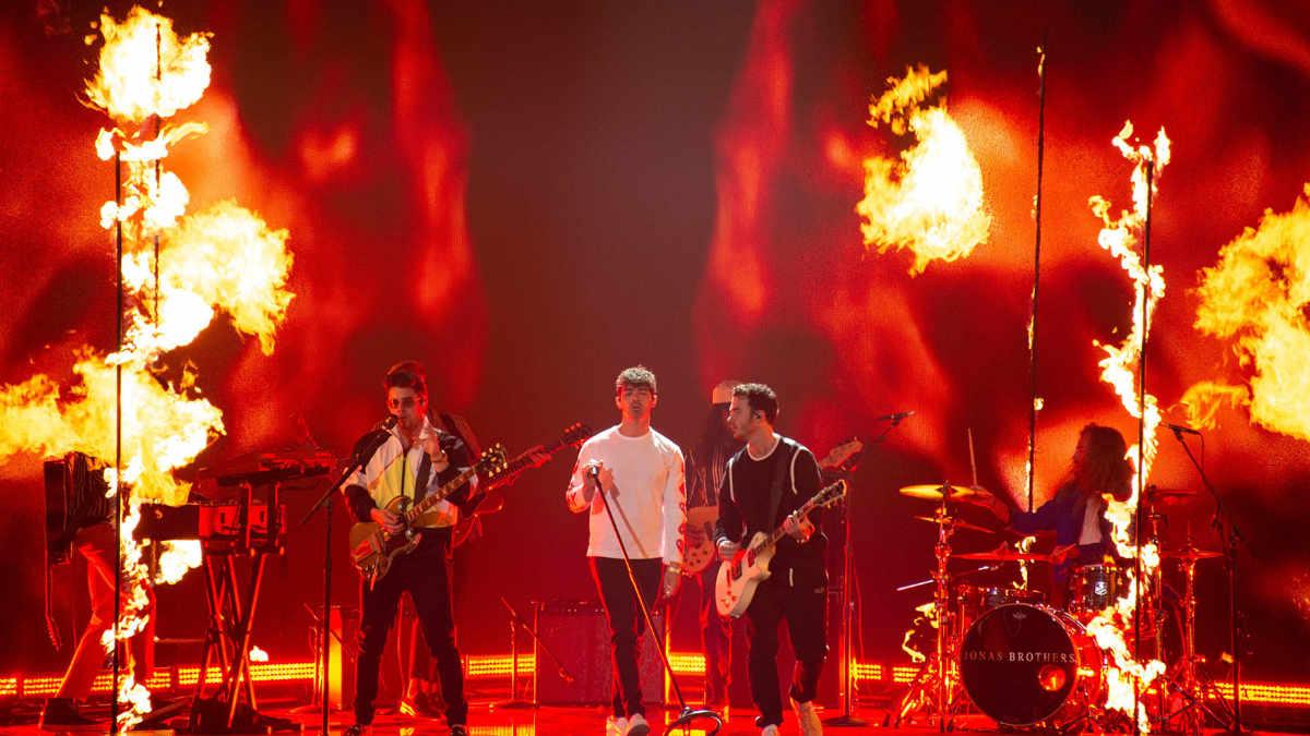 Solaris Flare bei den Billboard Music Awards im Einsatz