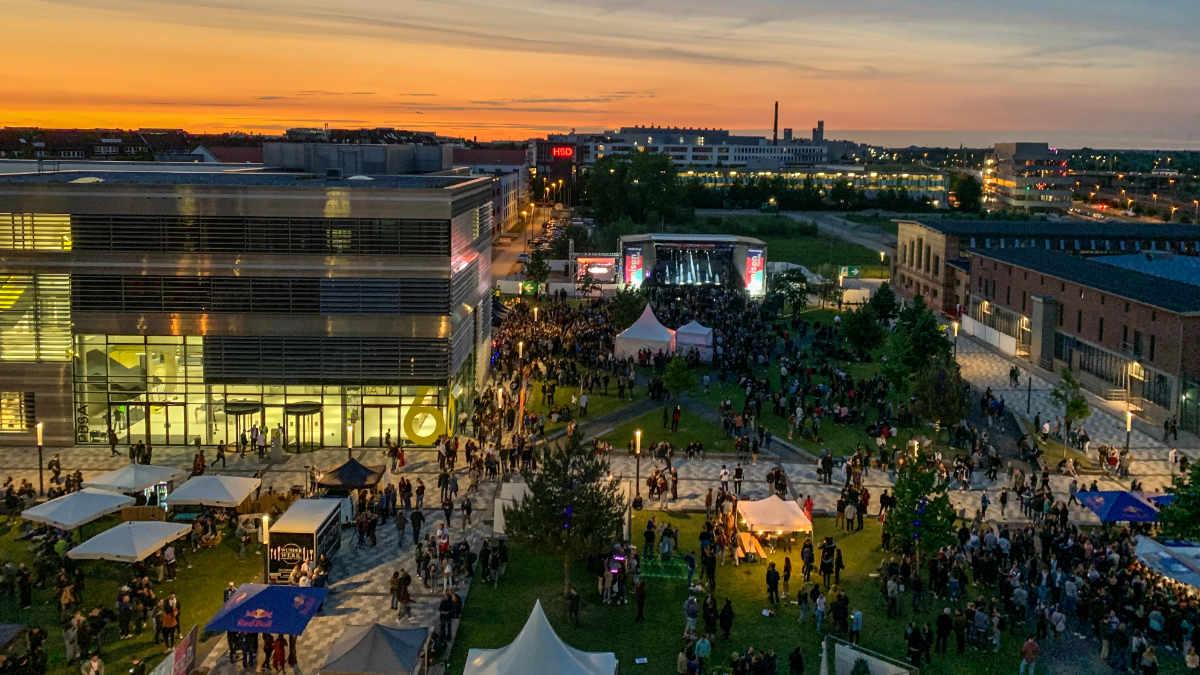 Studierende organisieren und planen das Unison Festival