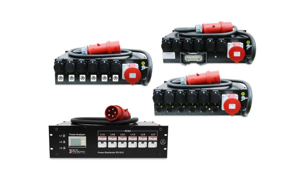 Voice-Acoustic überarbeitet seinen Stromverteiler PD-32-6