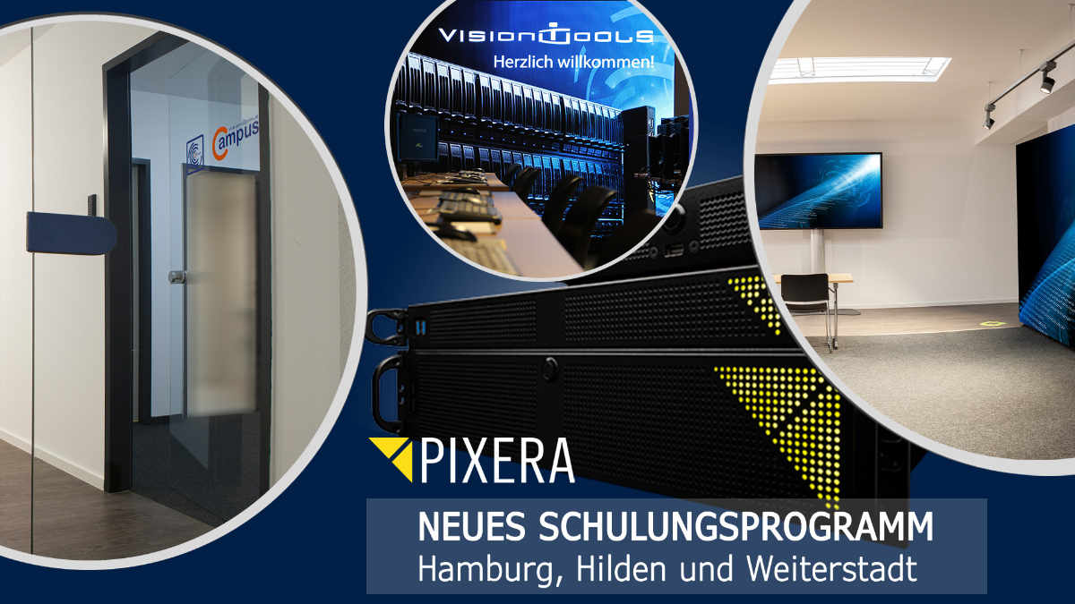 vision tools bietet PIXERA Operators Training an