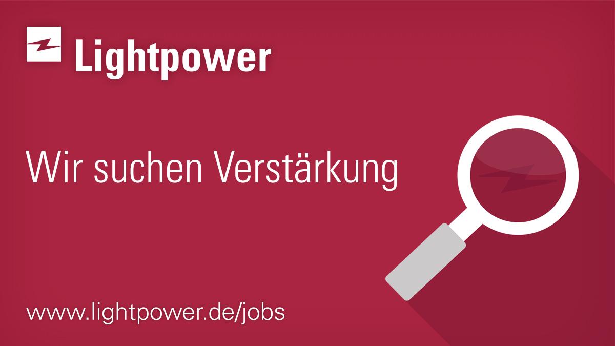 Lightpower sucht einen Mitarbeiter Vertrieb Innendienst (m/w/d)