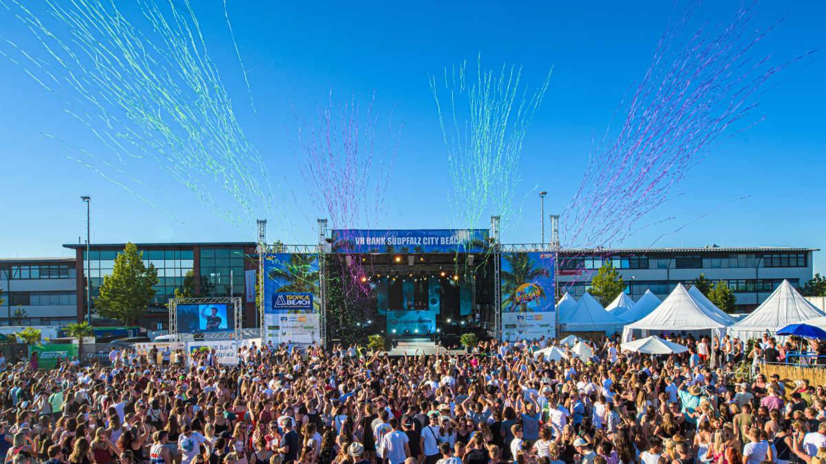 WS-Audio beschallt das Tropical Beach Festival mit dBTechnologies