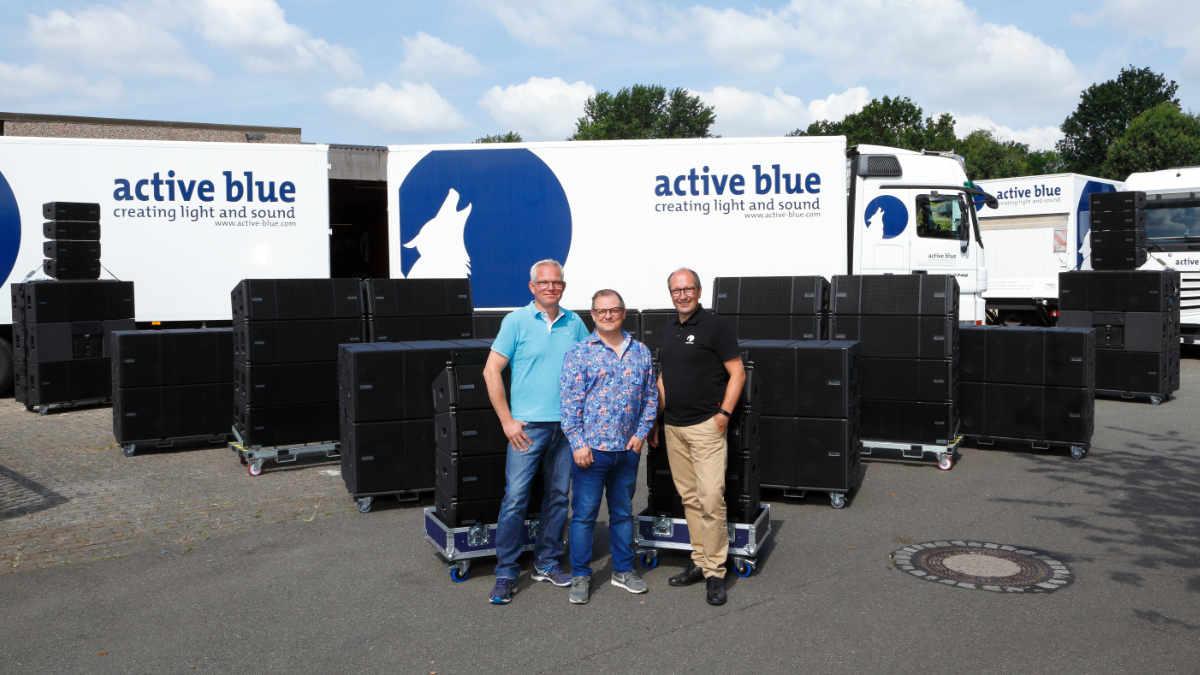 active blue investiert in das VIO System von dBTechnologies