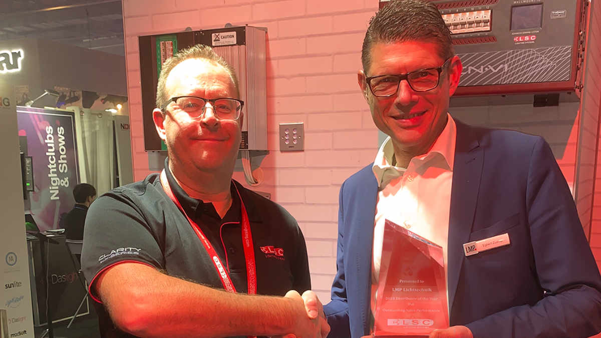 LSC Lighting Systems zeichnet LMP als Distributor of the Year 2018 aus