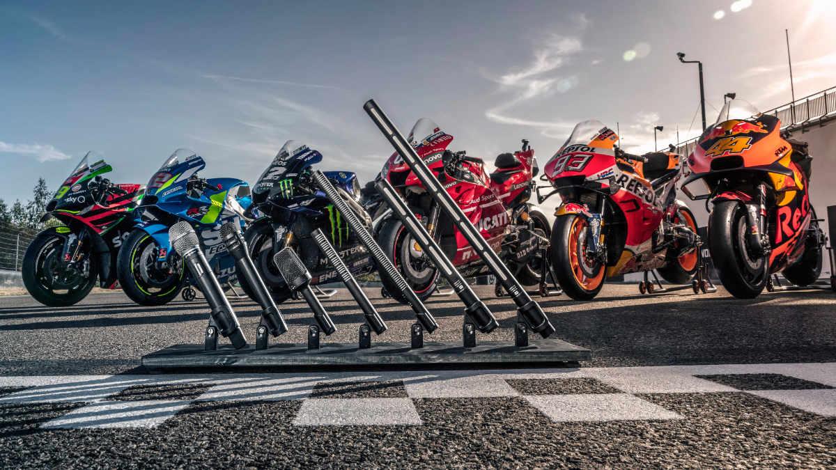 Die MotoGP-Serie setzt auf Audio-Technica