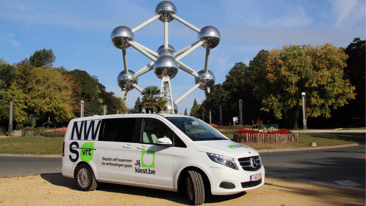 Broadcast Solutions liefert weiteres ENG-Fahrzeug an VRT