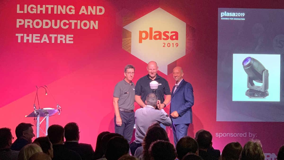 Der Artiste Monet erhält den PLASA Award for Innovation