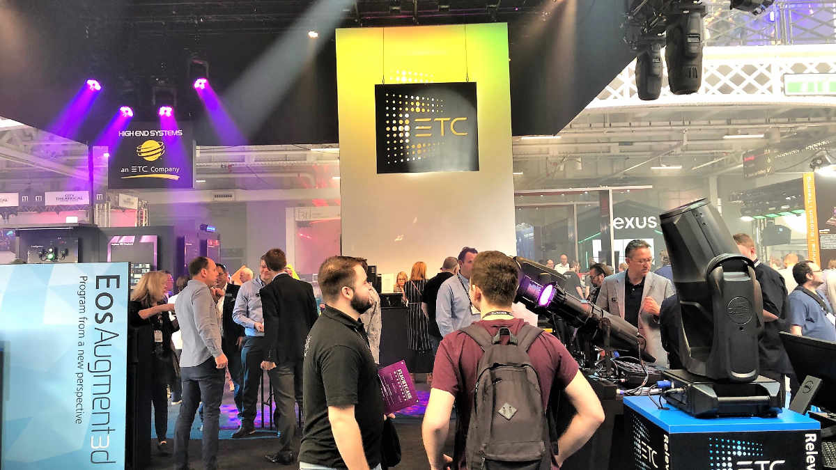Augment3d von ETC gewinnt den PLASA Award For Innovation