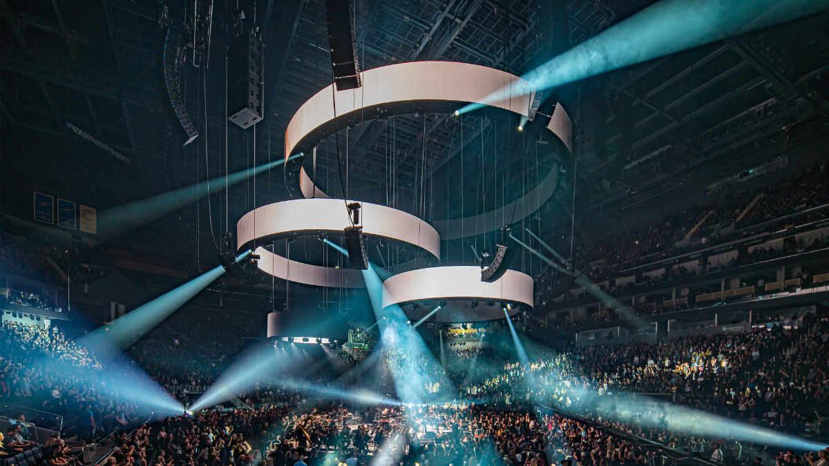 Meyer Sound LYON für Metallicas S&M2 Show