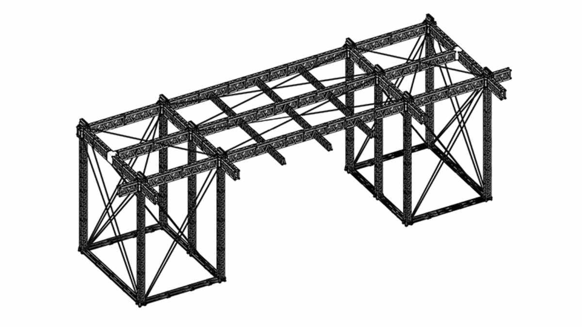 MILOS Steel Truss Serie für hohe Nutzlasten