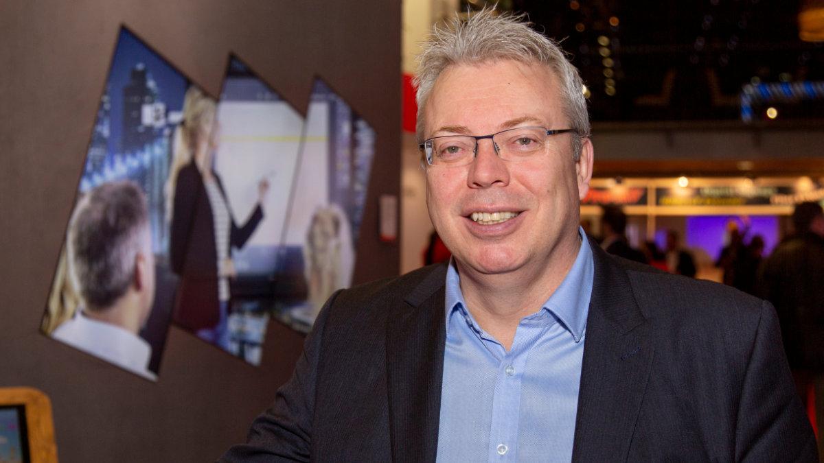 Ian Barnard ist neuer European General Manager Visual Solutions bei Sharp