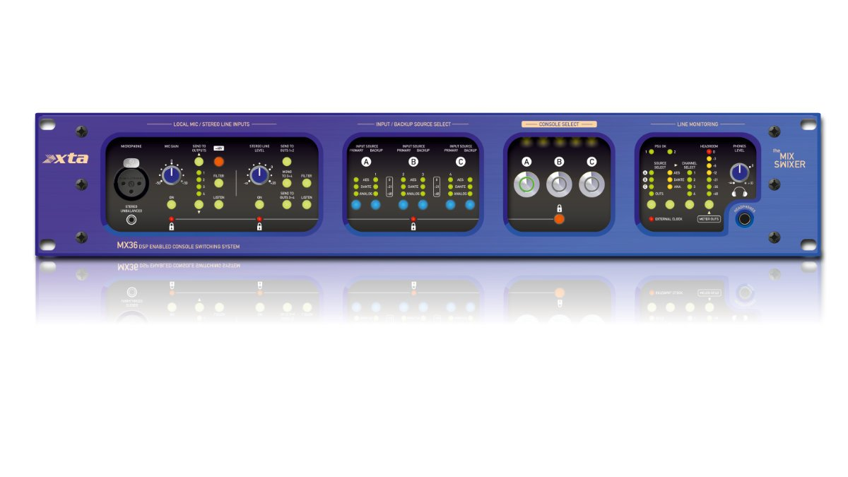 XTA MX36 Console Switching System vorgestellt