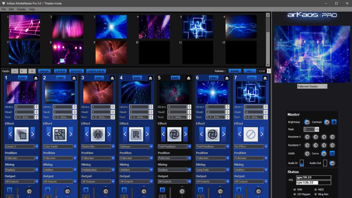 ArKaos veröffentlicht MediaMaster Pro 5.6