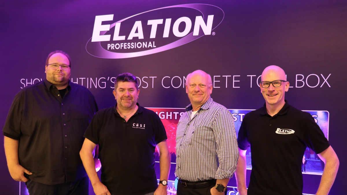 Cast Swiss Light Consulting ist exklusiver Vertrieb von ELATION in der Schweiz
