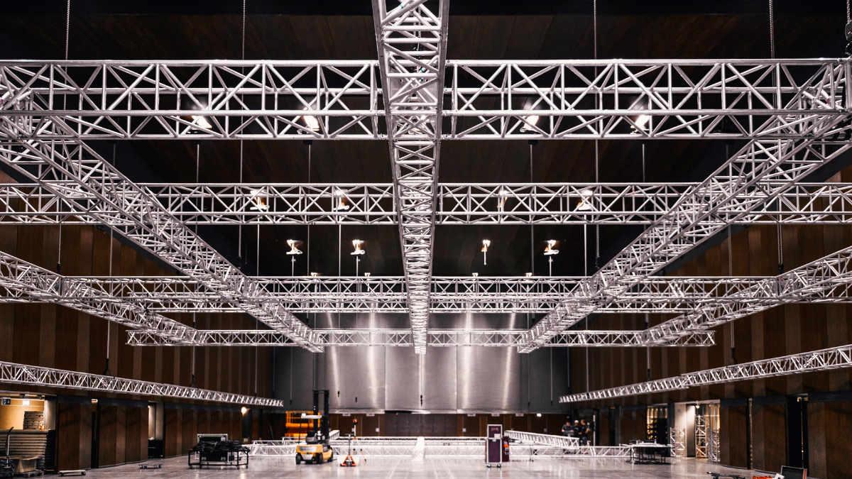ChainMaster liefert neue Kettenzuganlage an die Helmut List Halle in Graz