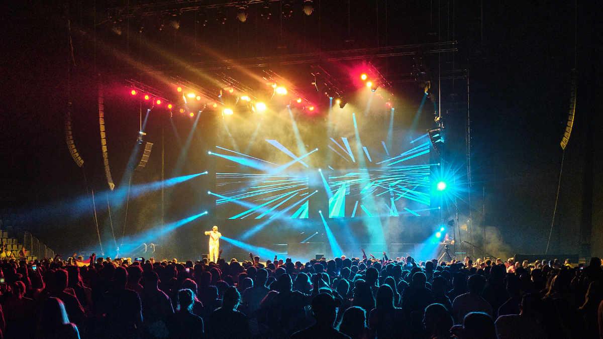Colito beschallt das Los Favoritos Festival mit RCF