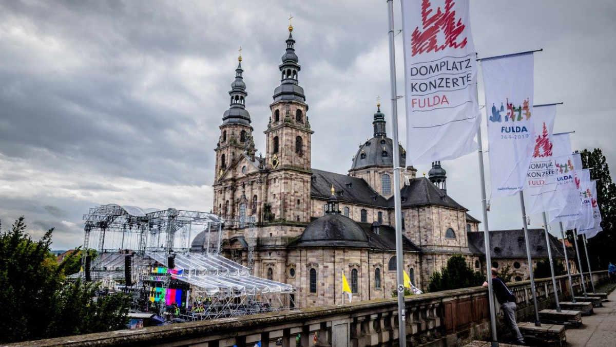 satis&fy realisiert Bonifatius – das Musical vor dem Fuldaer Dom