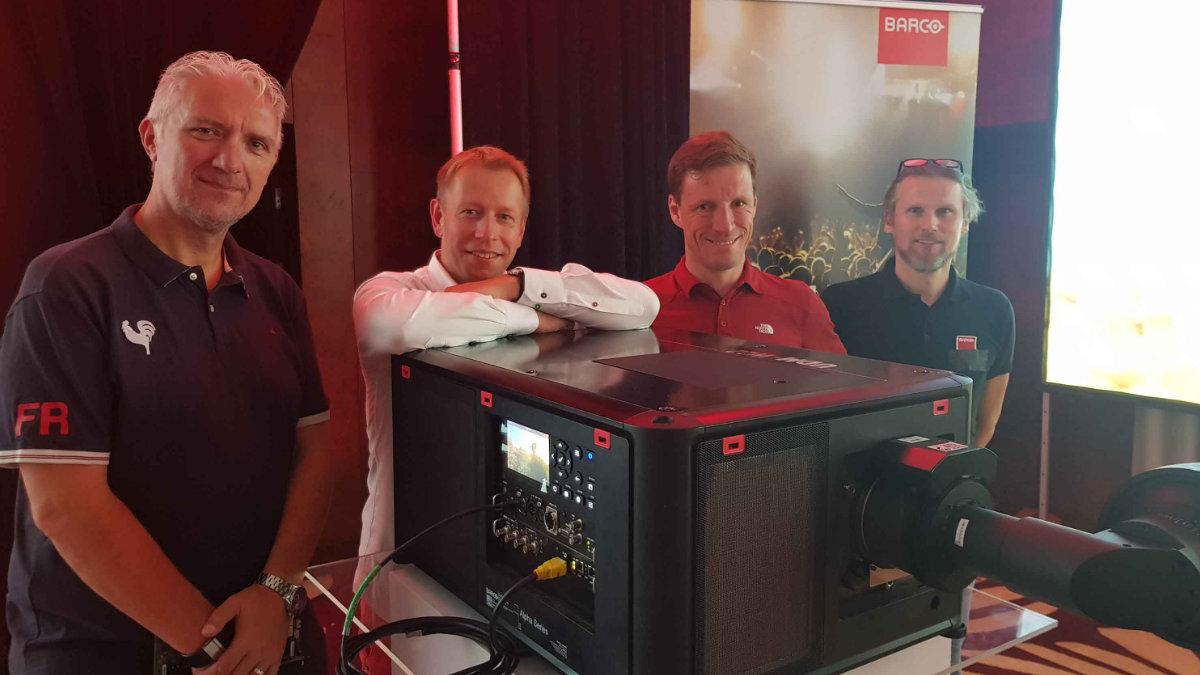 AED Display investiert weiter in Projektoren und Bildverarbeitung von Barco