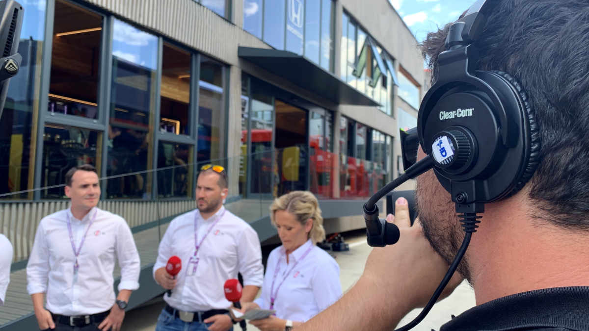 Clear-Com beim Formel 1 Grand Prix in Ungarn