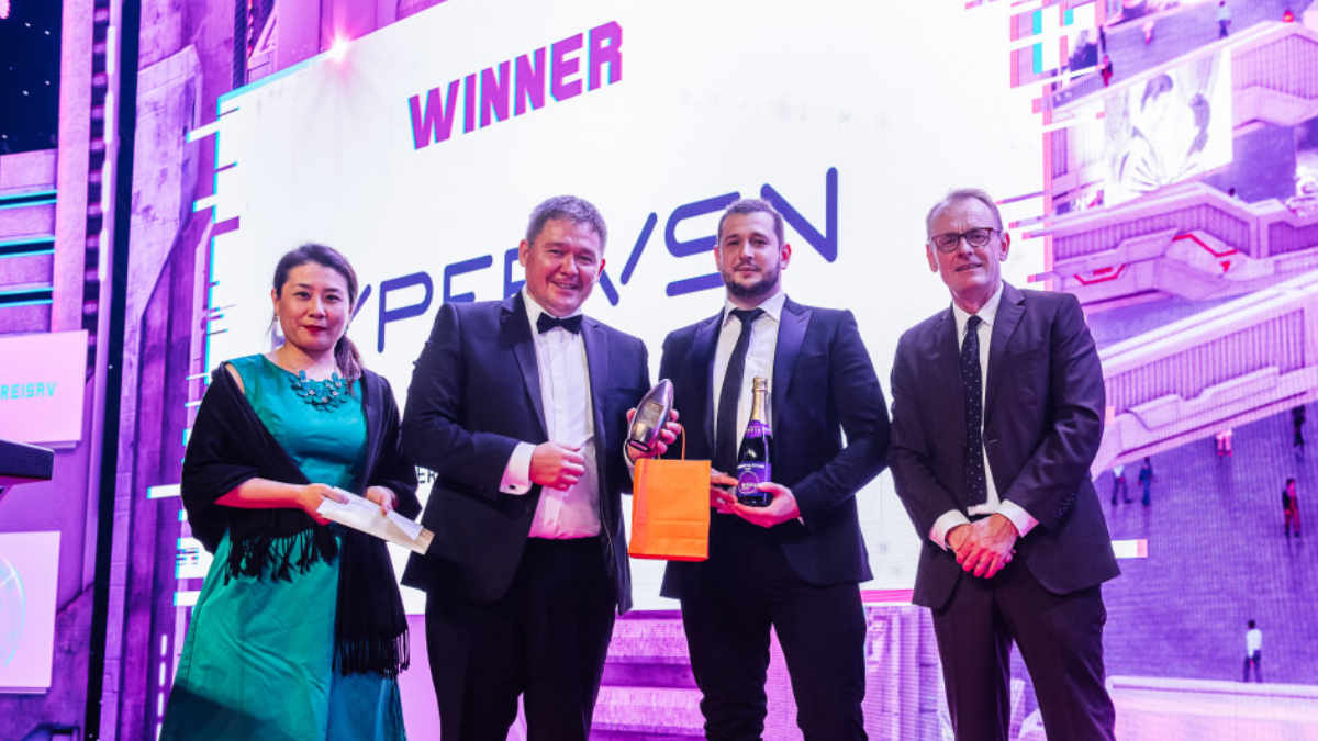 Die HYPERVSN Wall gewinnt den AV Award