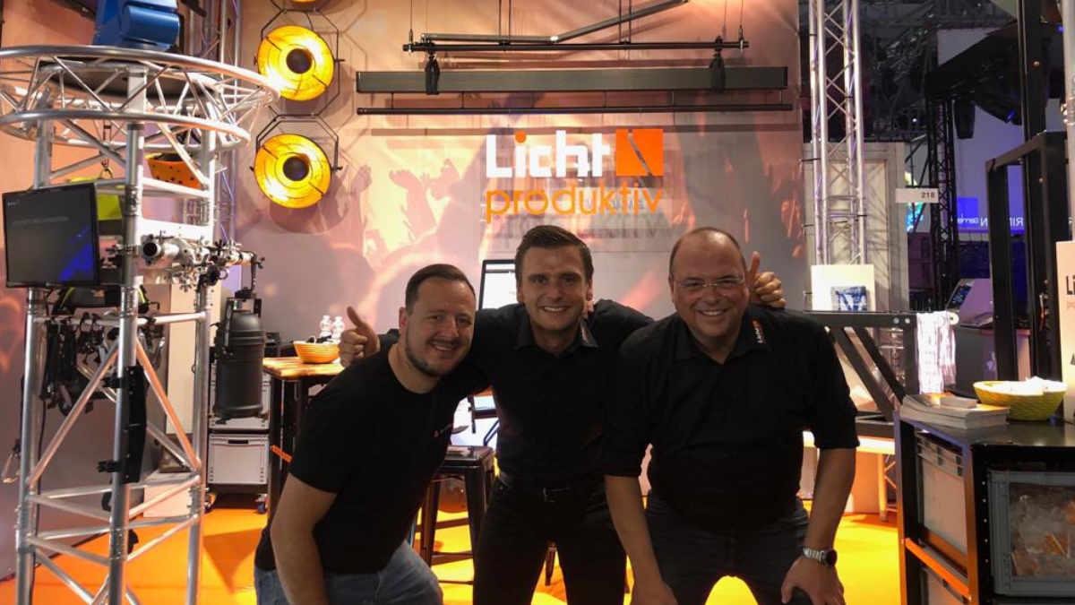 Licht-produktiv auf dem INTHEGA Theatermarkt