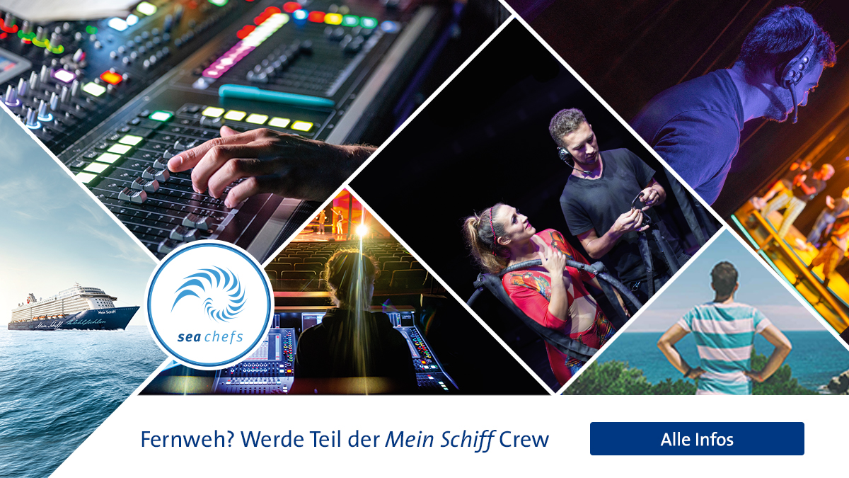sea chefs sucht Mobile Sound Techniker (w/m/d)