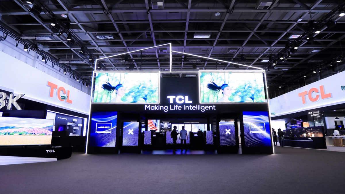ROBE LEDWash 800 am TCL Stand auf der IFA