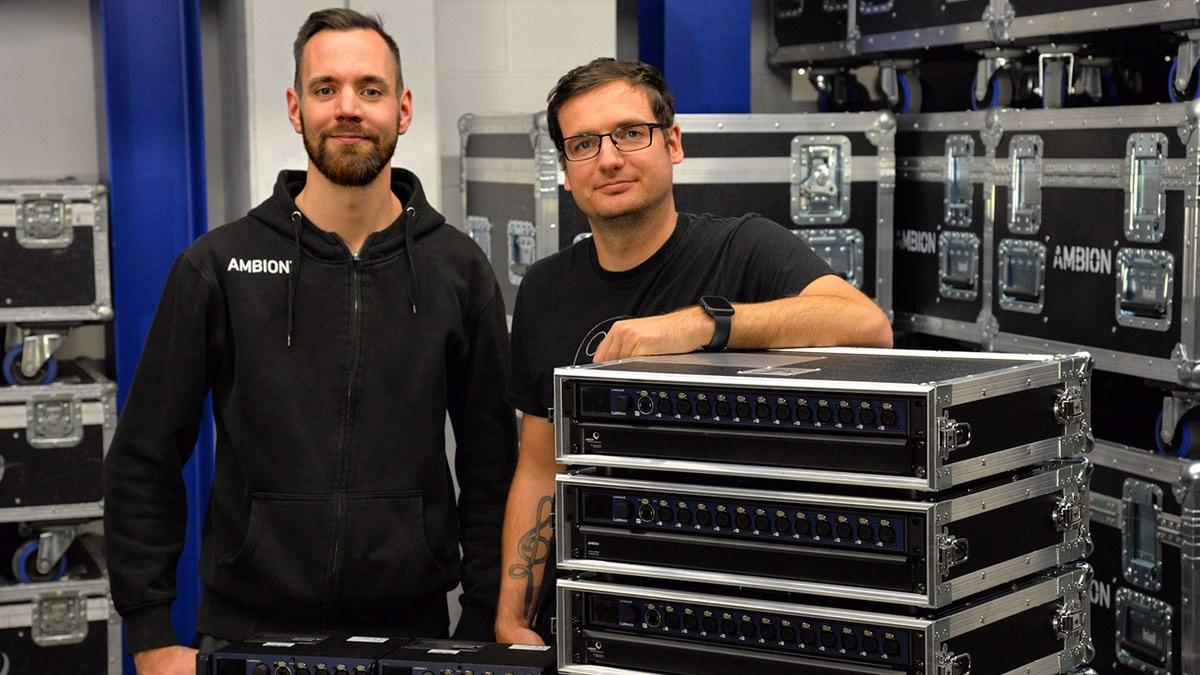 AMBION investiert in Netzwerktechnik von Luminex