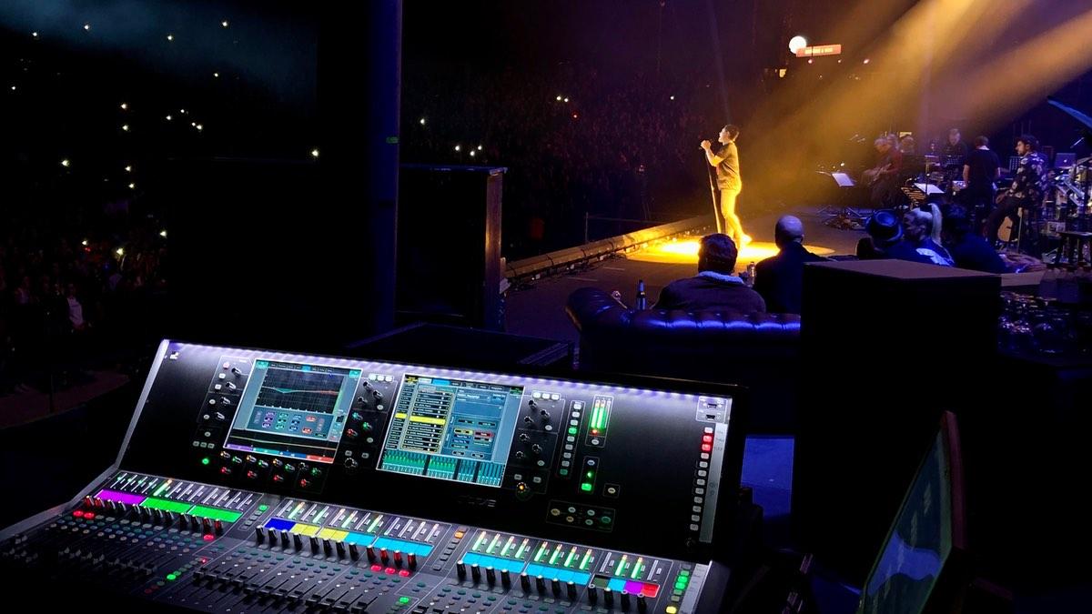 """""""Sing meinen Song""""-Livekonzert setzt auf dLive-Systeme"""