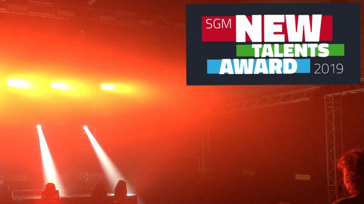 Niclas Weber ist Sieger des SGM New Talents Award 2019