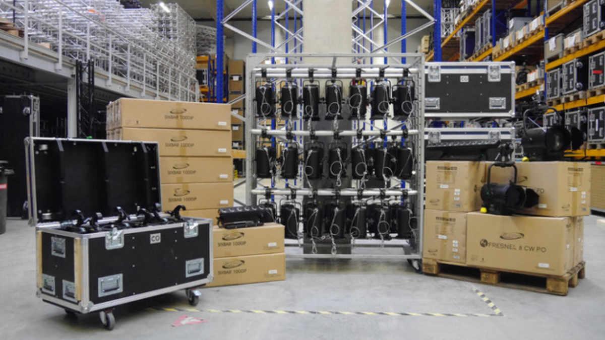 CONRAD Licht & Rigging Support investiert in Weißlicht-Lösungen von ELATION