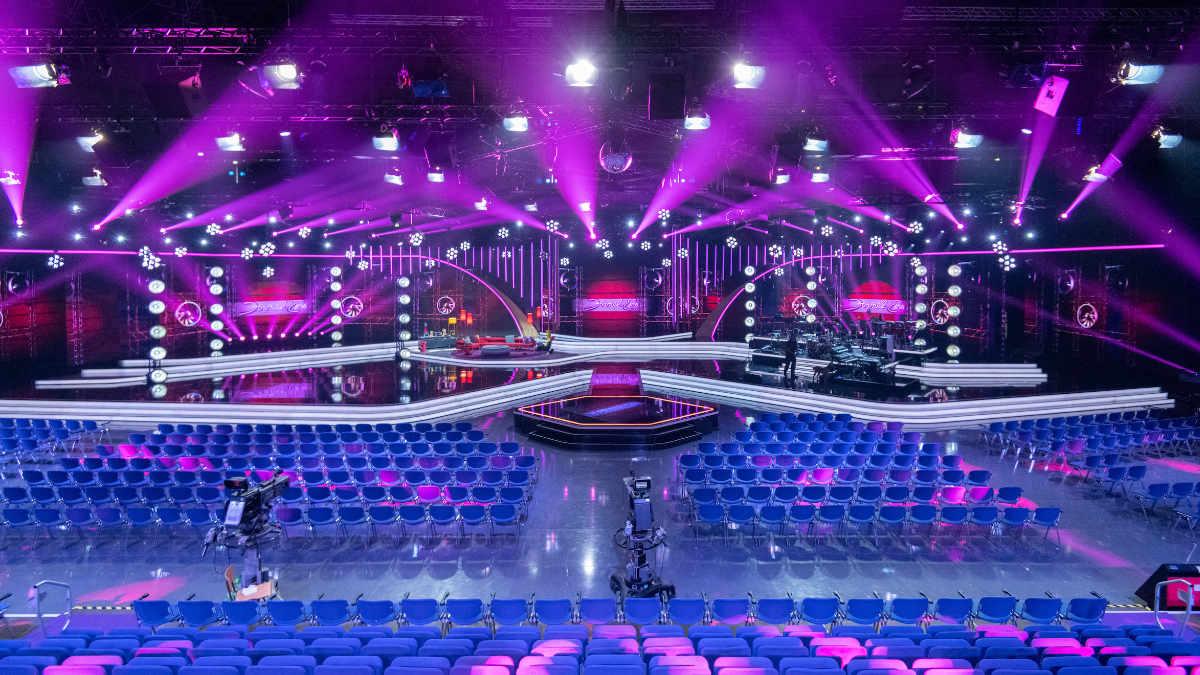 GLP KNV Dot bei Gottschalks große 80er Show im Einsatz