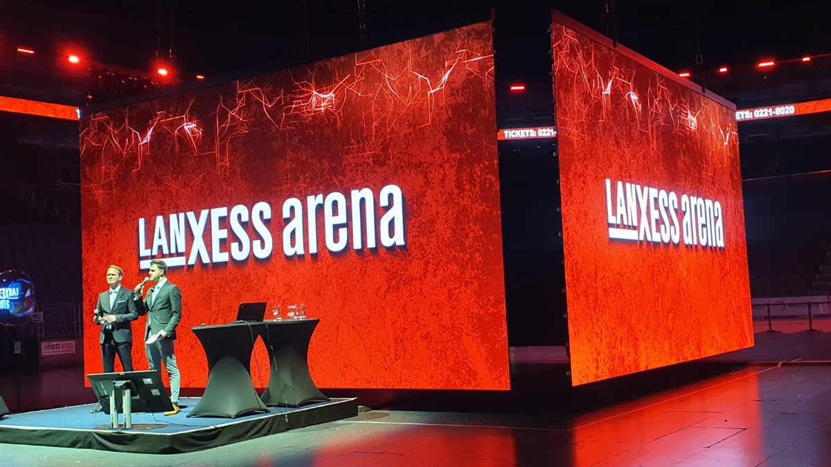 Expromo stattet die LANXESS arena mit neuen LED Installationen aus