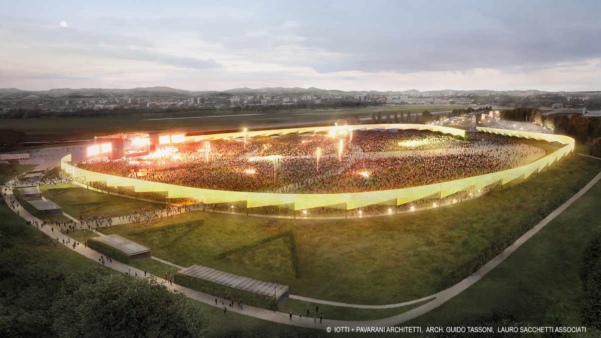 RCF kündigt die RCF-Arena an