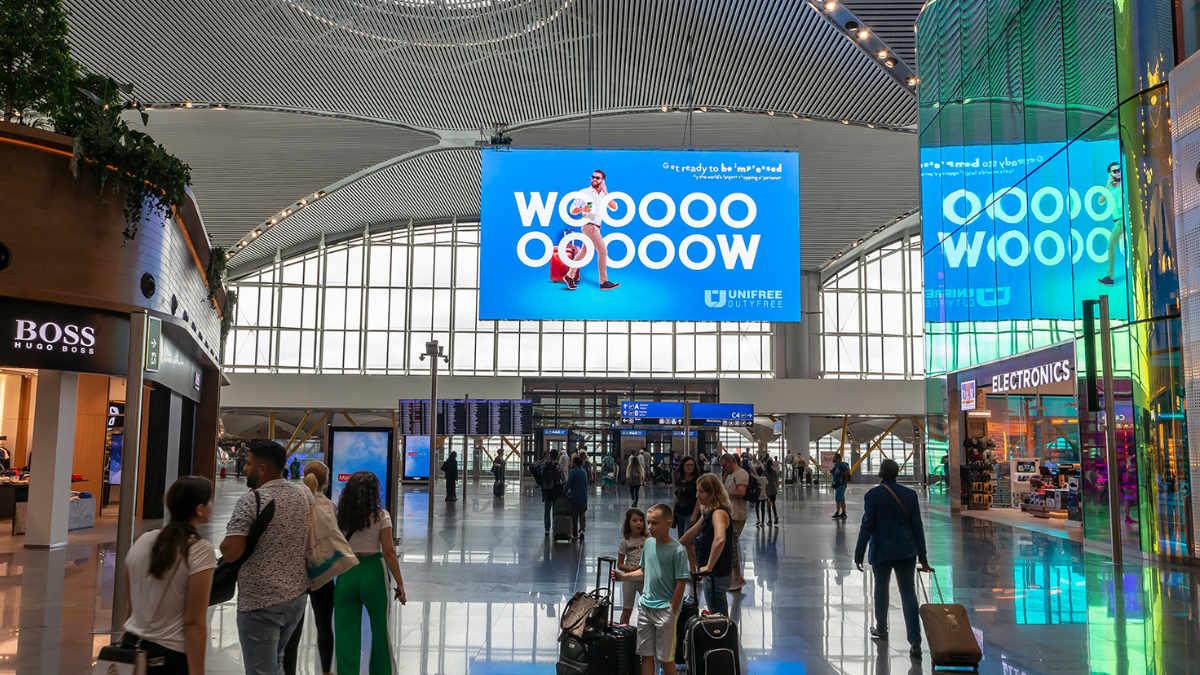 Absen LED-Display für den neuen Flughafen Istanbul
