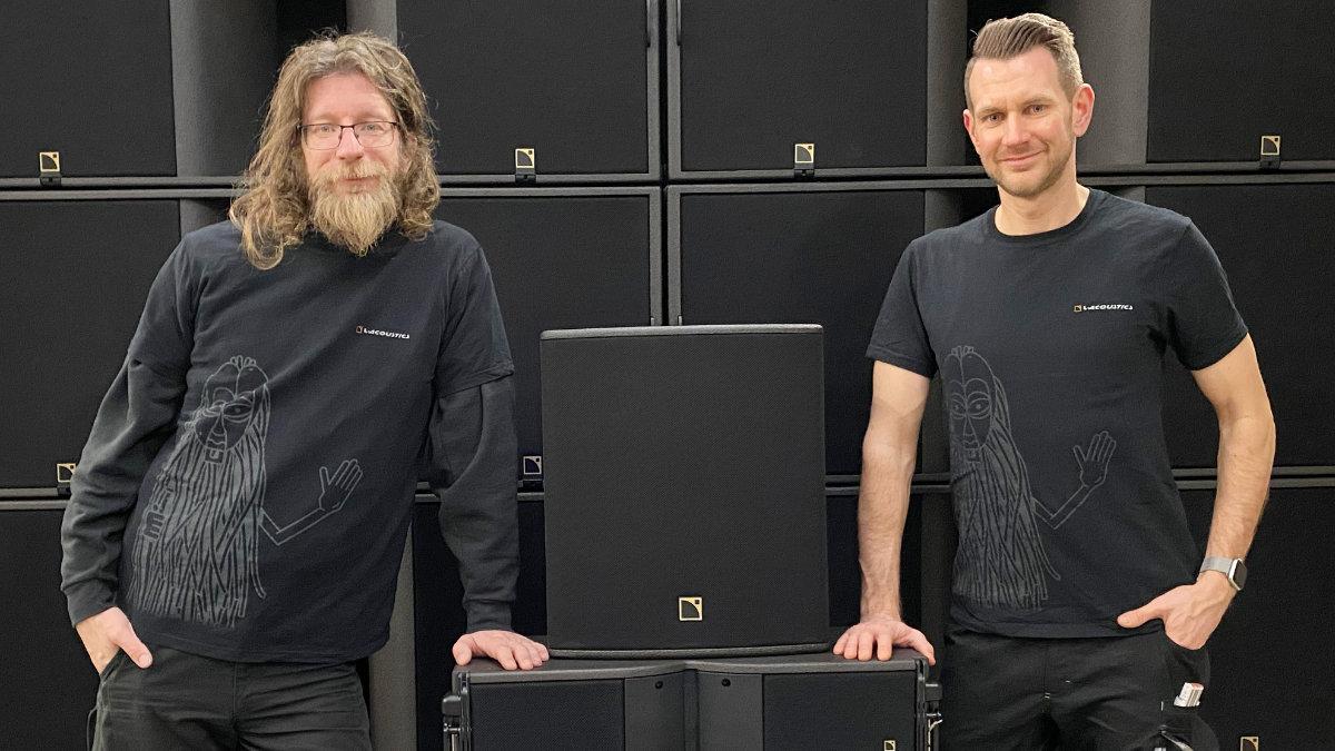 AudioStudioNord investiert in L-Acoustics