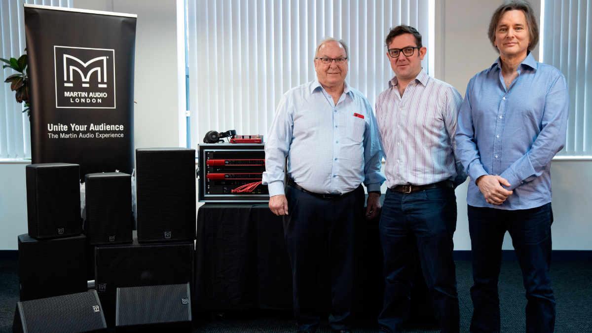 Die Focusrite Group übernimmt Martin Audio