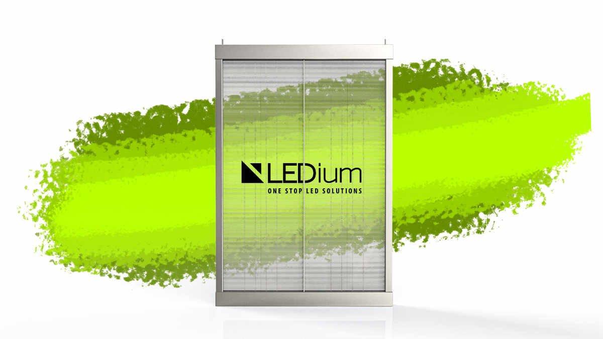 LEDium präsentiert das Smart-Poster für Shopbetreiber