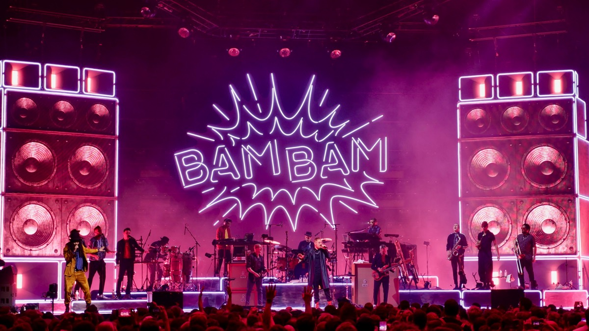 Die Technik der SEEED BAM BAM Tour
