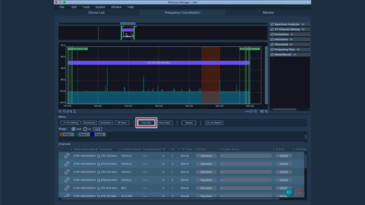 Audio-Technica launcht die Wireless Manager Software