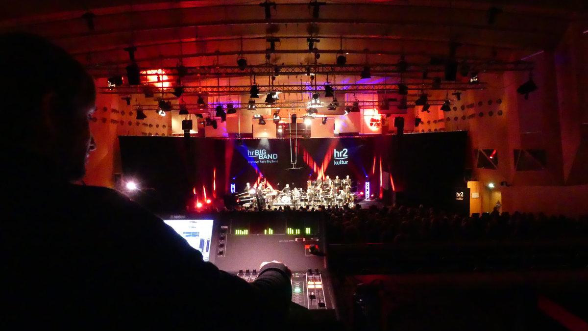 CODA Audio im hr-Sendesaal