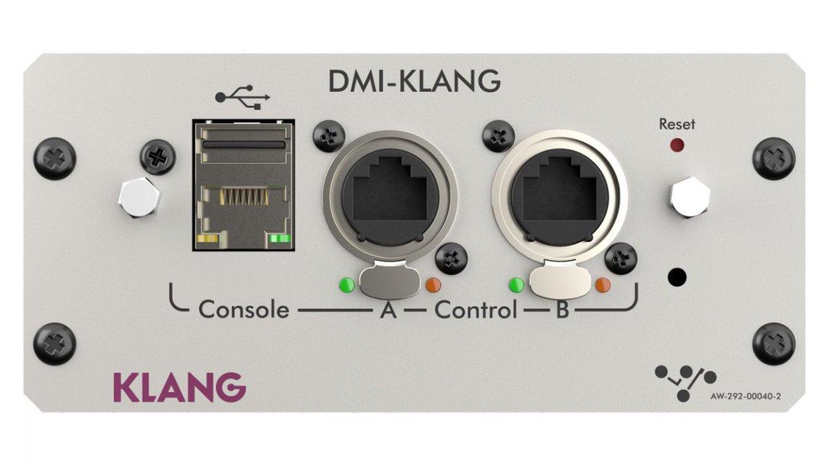DiGiCo präsentiert die immersive IEM-Erweiterung DMI-KLANG